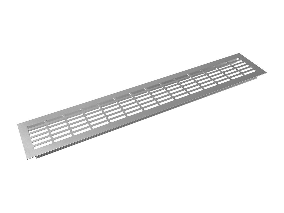 Заглушка вентиляционная GIFF L480 H80 алюминий – купить: Киев, Украина | KRONAS